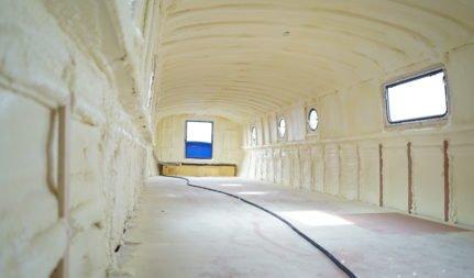 60′ x 12′ Sailaway Round Cruiser Stern